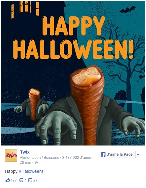Halloween - Twix
